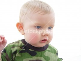 baby in camo