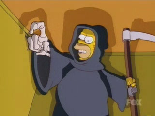Homer as Death
